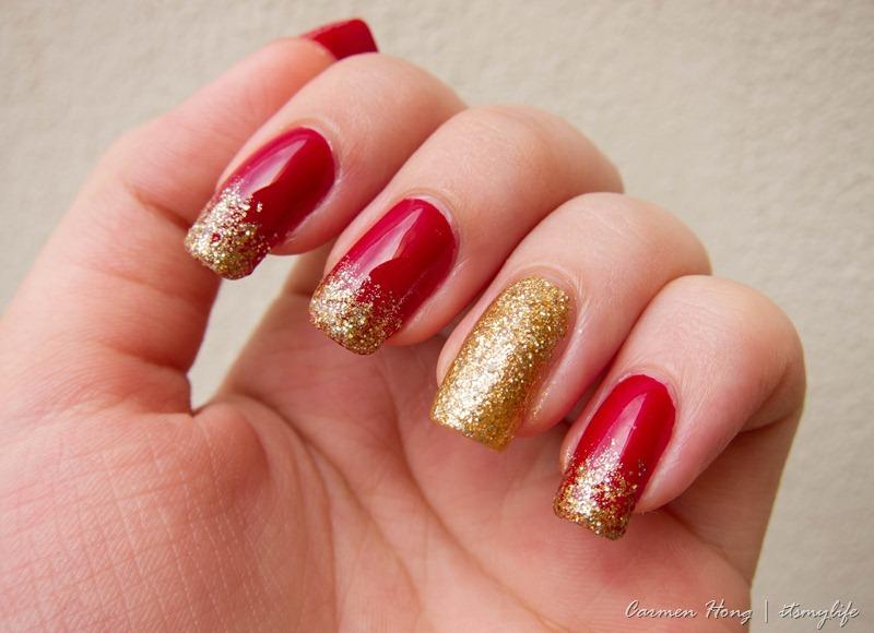 Nail Art Chinese New Year Nails Its My Life