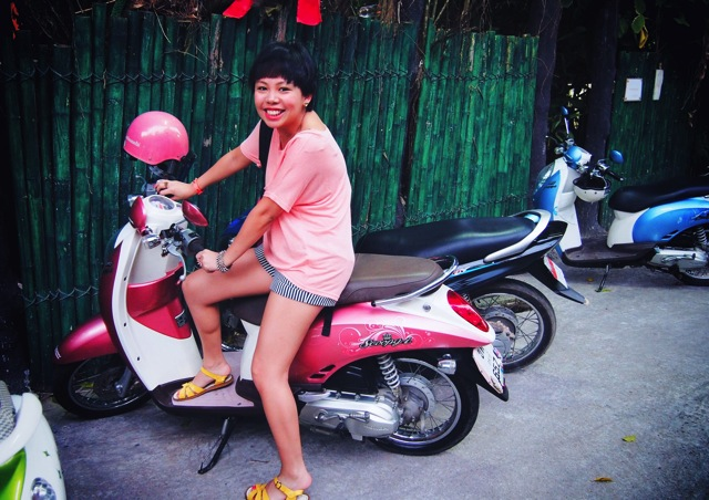 me on scooter