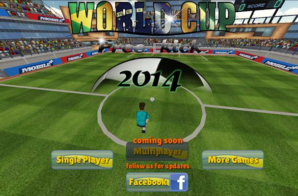 free world Cup Free kick 2014 - screenshot