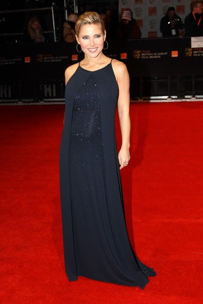 Elsa Pataky attends The Orange British Academy Film Awards 2012