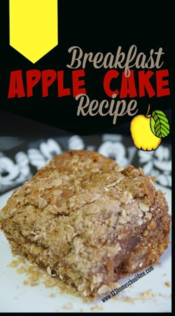 Breakfast Apple Cake Recipe - This recipe is so easy to make and perfect every time! The streusal topping is just fantastic!