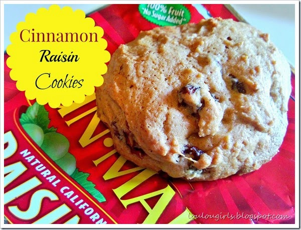 cinnamon raisin cookie