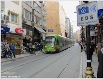 Стамбульский трамвай. Турция.