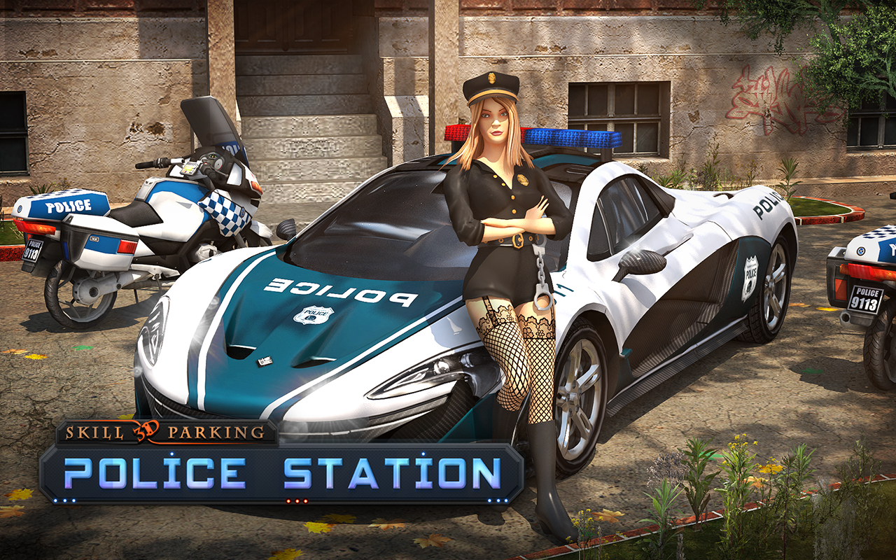 Police car parking free android game download download the free free - Skill3d Parking Police Station Android Apps On Google Play