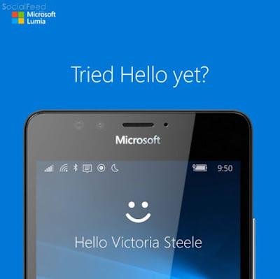 Đơn giản chỉ cần nhìn vào camera trước tính năng Windows Hello