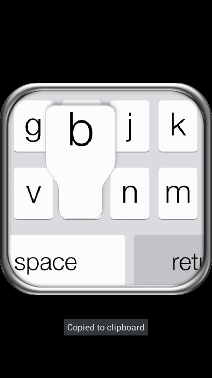 iphone keyboard apk iphone 5s keyboard ios 7 3 12 apk for android 5837