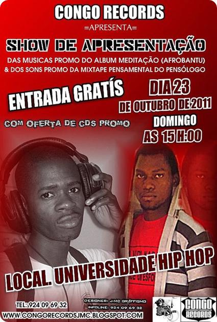 Show da Congo Records Na Universidade Hip Hop [Dia 23 de