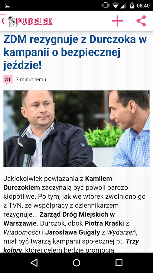 Pudelek.pl- screenshot