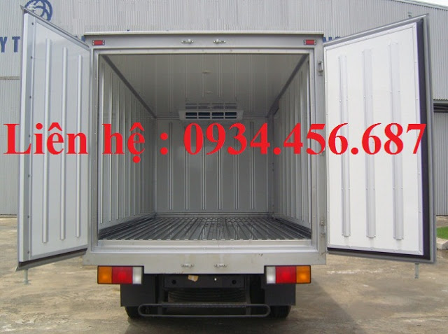 Thùng đông lạnh 7 tấn xe Mighty Hyundai 110s