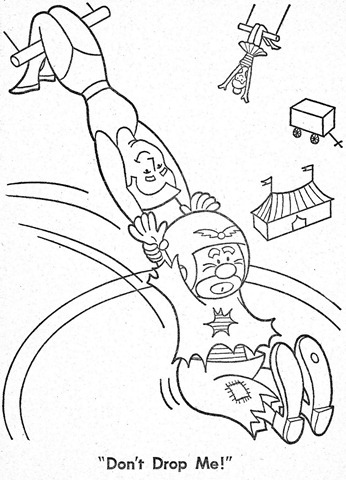 palhaço-colorir-Clowns To Color-coloring page-00032