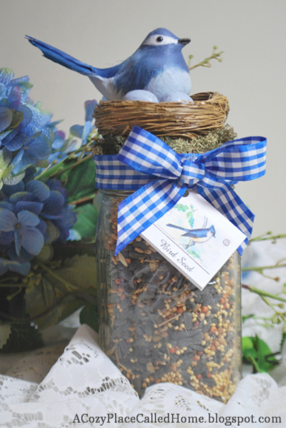 Bird Seed Jar- Whole 3