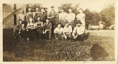 16 men and one woman Solway snapshot