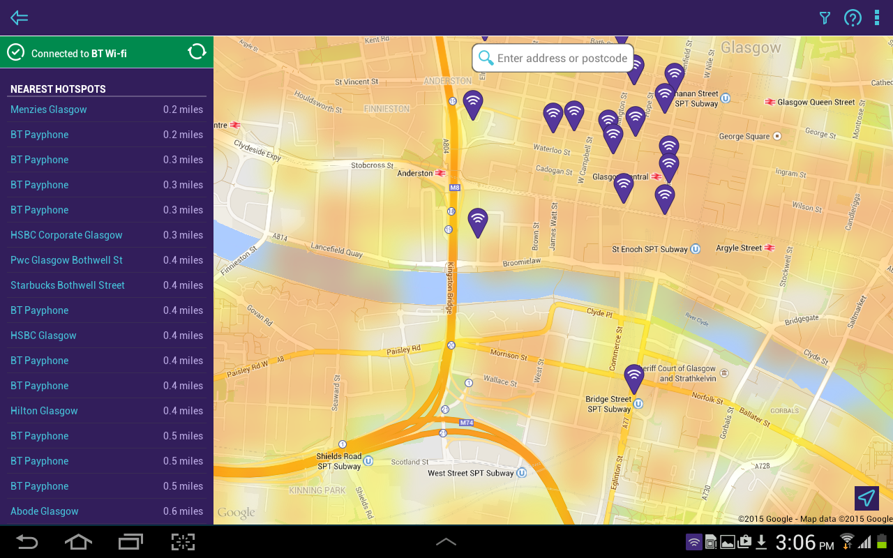 BT Wi-fi- screenshot