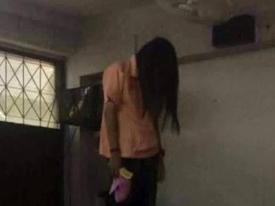 Bức ảnh cô gái treo cổ tự tử và sự thật khủng