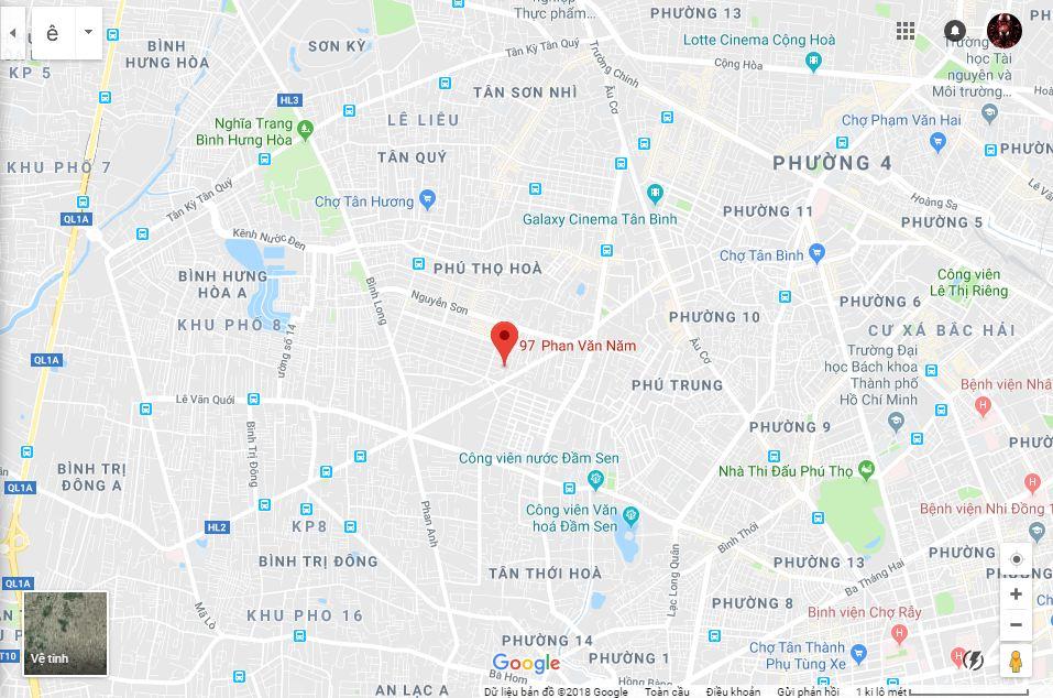 Nhà Phố Mặt Tiền Đường Phan Văn Năm Quận Tân Phú 03