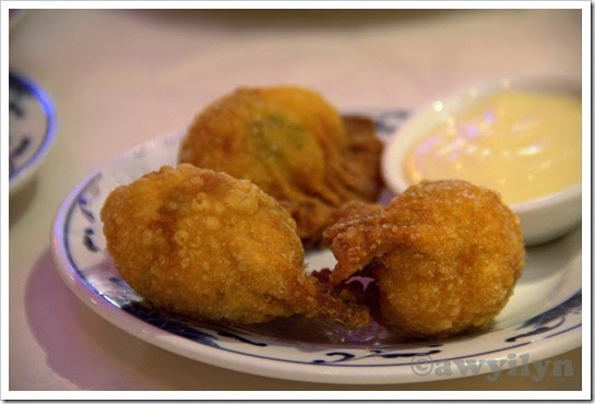 Seafood Croquette with Salad Cream
