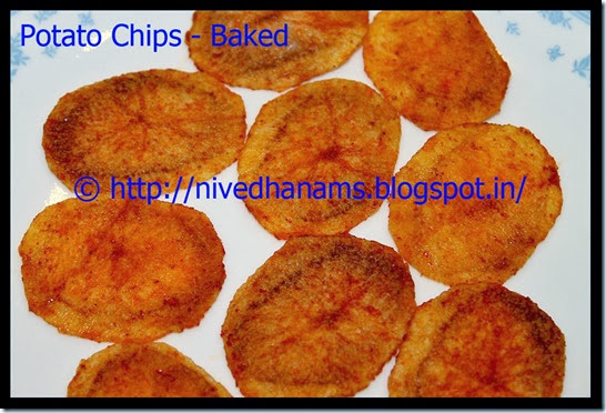 Potato Chips(Baked) - IMG_3903