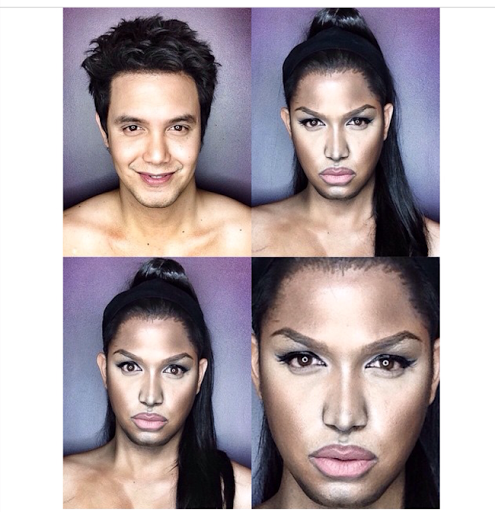 PHOTOS: Dad Transforms Himself Into Celebrities Using Makeup And Wigs 32