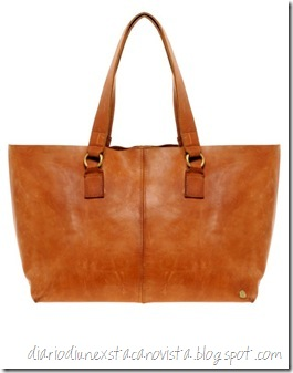 Made - East West - Borsa shopper in pelle