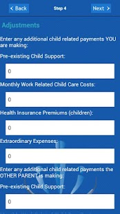 Child Support Calculator - screenshot thumbnail