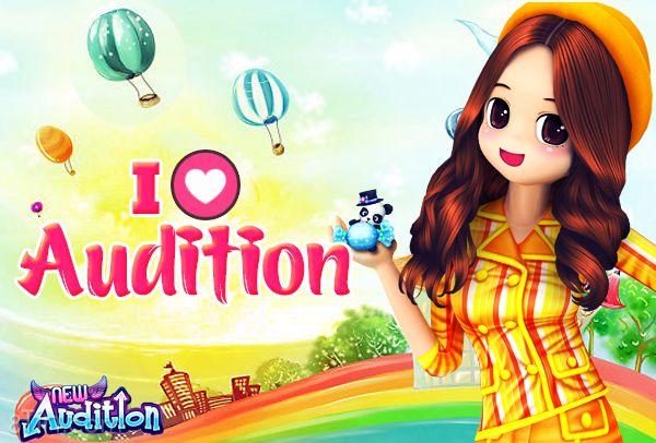 """Cần lắm 1 biểu tượng Love cho Audition ViệtNam :"""">"""