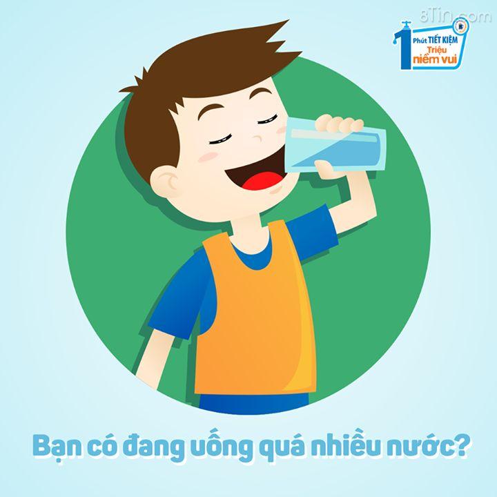 Bạn biết không, uống quá nhiều nước có thể gây ra nhiễm