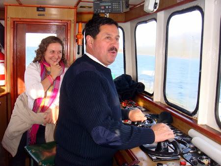 Iunia Pasca: Pe vas in Patagonia