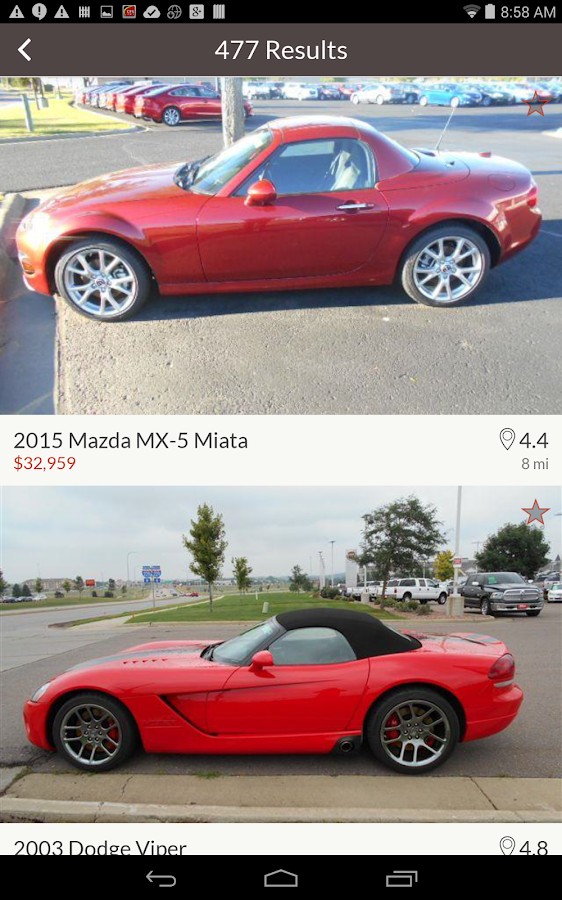 Cars for Sale: New & Used Cars - Android Apps on Google Play