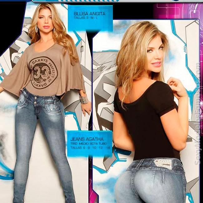 Angelica Jaramillo y Sofia Jaramillo Axxys Jeans Foto 7