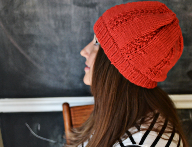 knitted hat complete 3