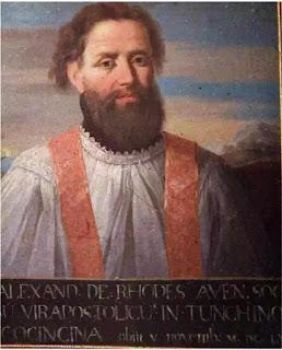 Alexandre de Rhodes có nói như thế không?