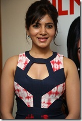 Acterss Samantha @ Filmfare Awards 2013 Announcement Stills