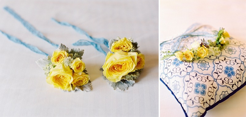 3 Oak and the Owl _ Yellow and Blue Wedding