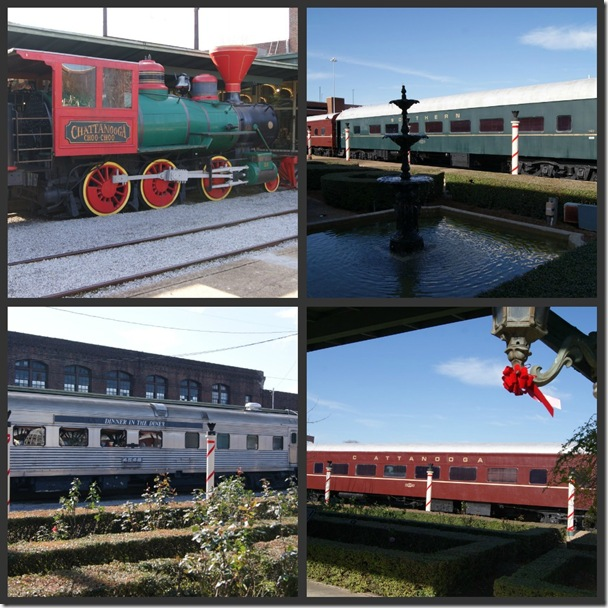 Choo Choo collage