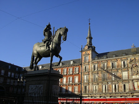 Obiective turistice Spania: Plaza Mayor Madrid
