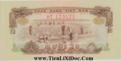 10 Xu Việt Nam Dân Chủ 1966