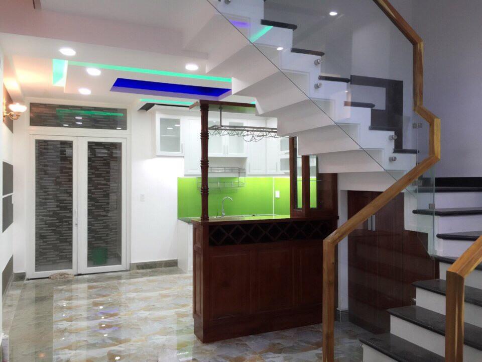 Nhà Phố Mặt Tiền đường Cây Keo Quận Tân Phú 1 trệt 3 lầu 03