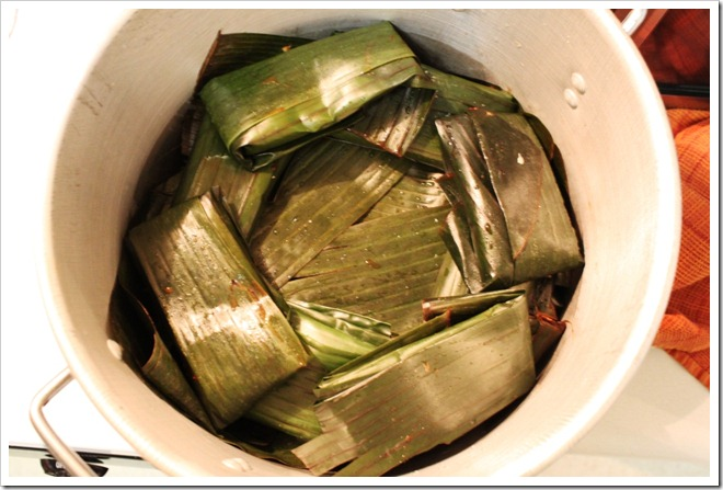 Tamales Huastecos in Banana Leaves | Mexican Recipes