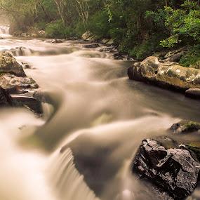 ... by Matheus Dalmazzo - Nature Up Close Water ( cinestudio, exposition, falls, long, são miguel )