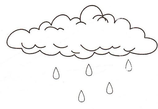 Nube Y Niña Para Colorear Imagui
