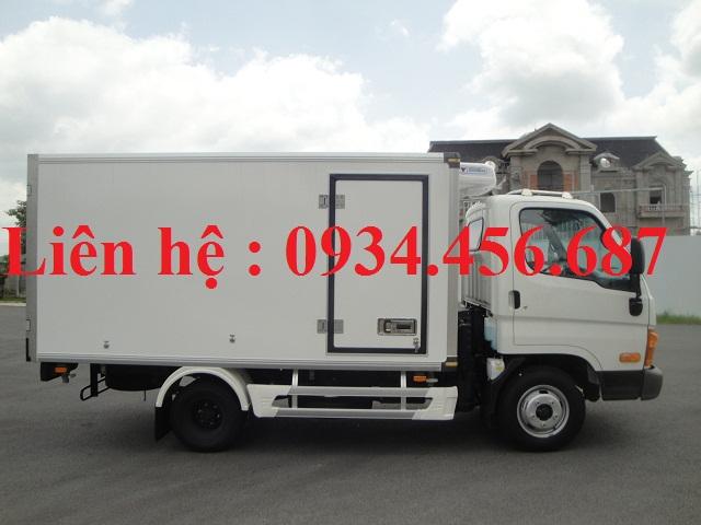 Xe Hyundai N250 thùng đông lạnh