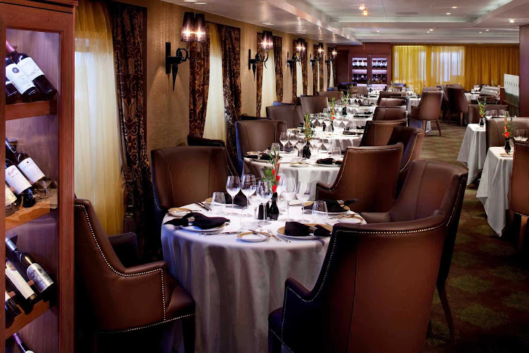 Guests will revel in the refined atmosphere of Seven Seas Navigator Prime 7 Steakhouse.