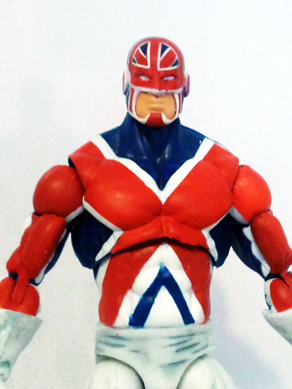 Captain Britain Head