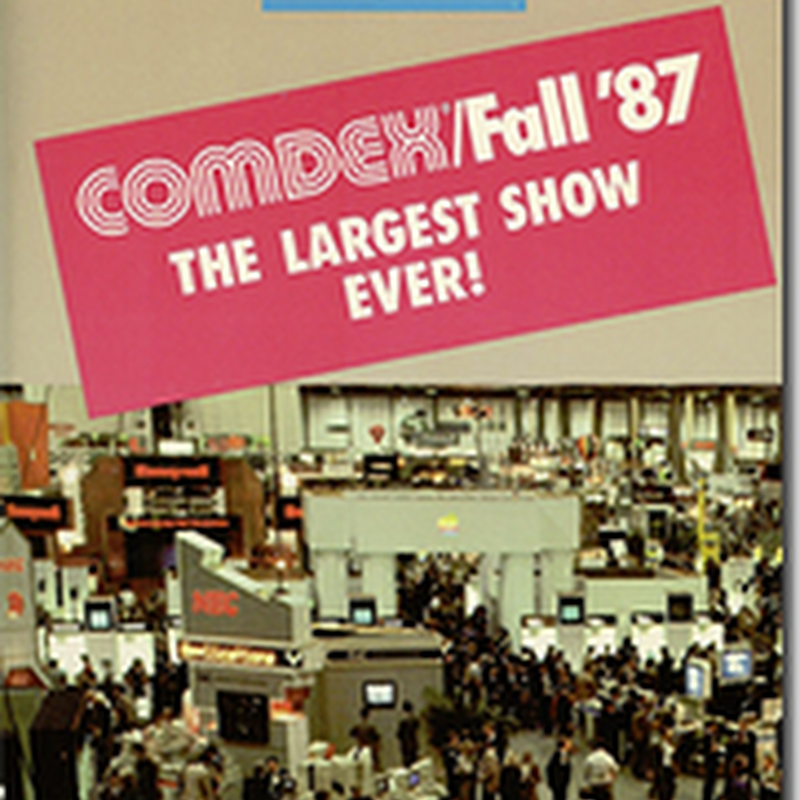 Neat Things from COMDEX 1987