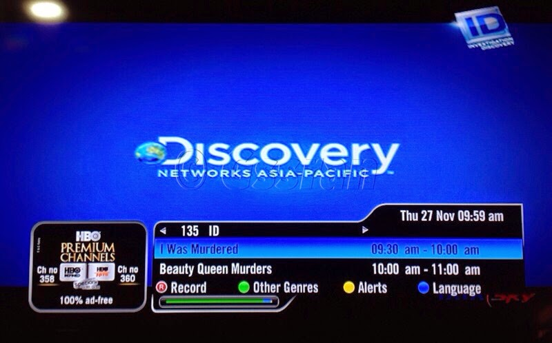 Investigation Discovery Now Available On Tata Sky Dishking