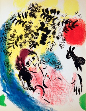 Chagall_Lovers_Red_Sun_M285