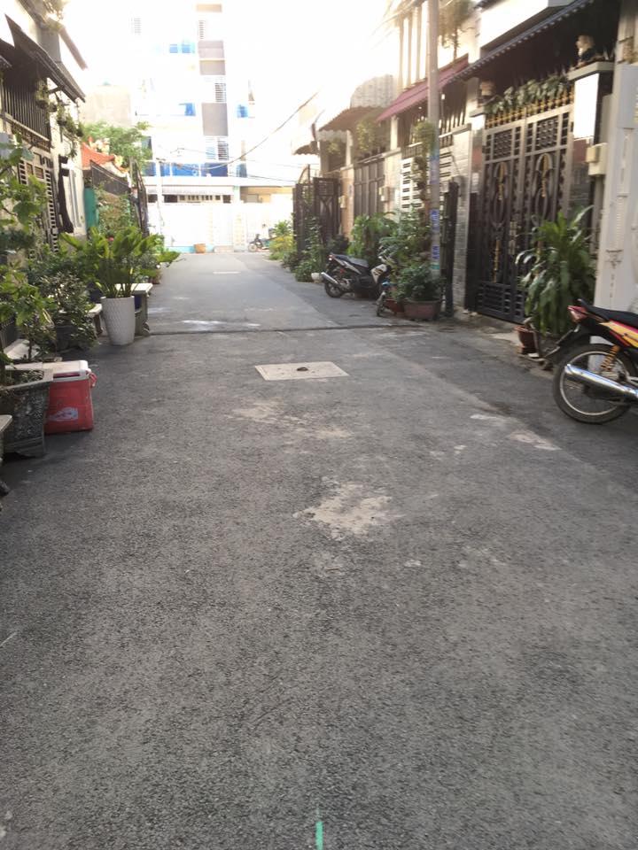 Nhà 1 trệt 3 lầu Bình Hưng Hòa A Bình Tân 07