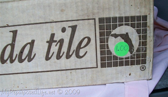 $1 box of tiles