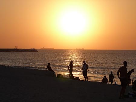 Apus de soare Dubai Marina