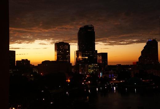 Downtown Orlando - Lake Eola Sunset